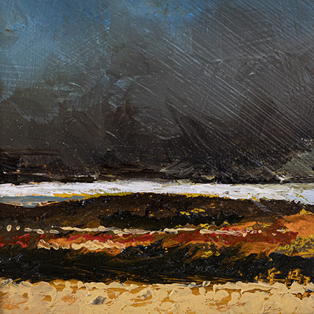 from clee hill oil painting