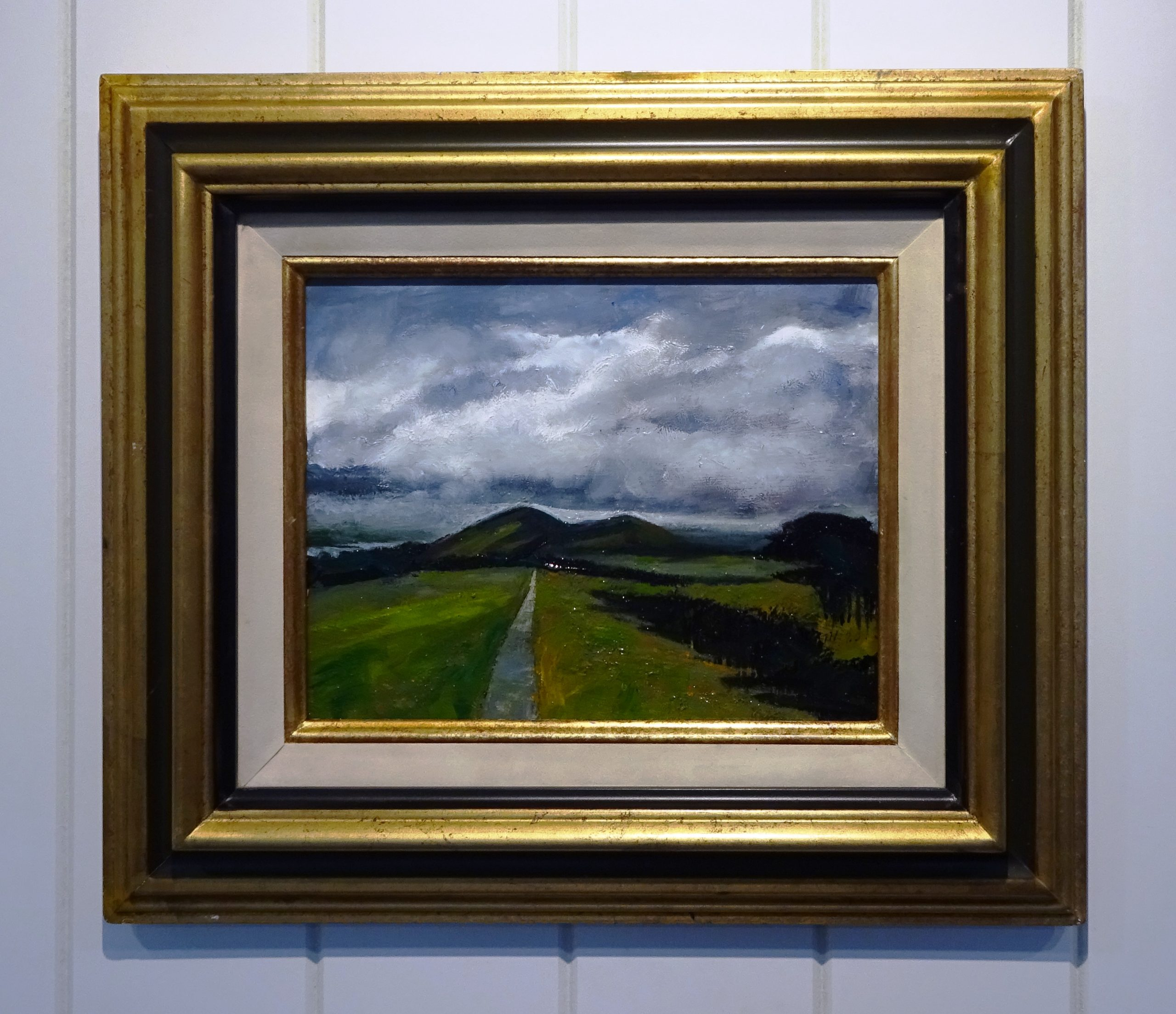 Oil on board - Malvern Hills